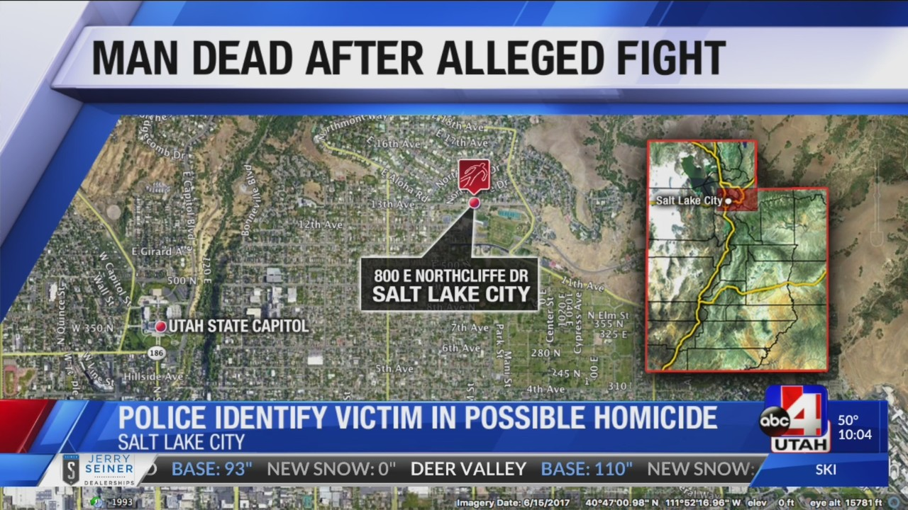 40-year-old man dead after fight in Salt Lake City, suspect booked in jail