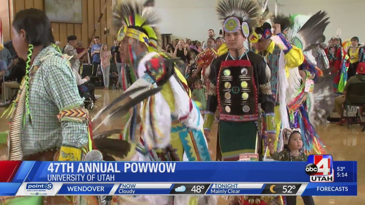 Native American tribal members around the state gather at U of U for 47th annual powwow