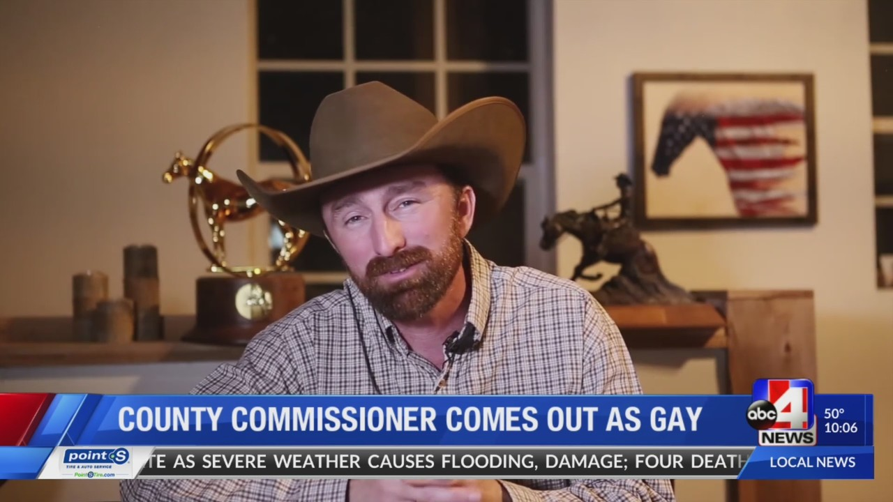 'I'm gay,' Utah County Commissioner Nathan Ivie comes out in video message