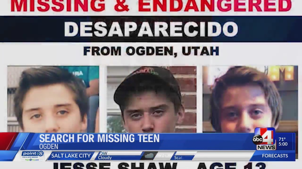 Wyoming teens runs away in Ogden, police ask the public to help find him