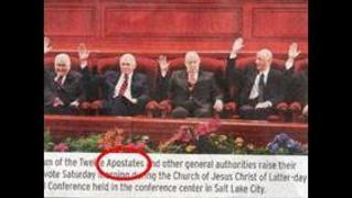 BYU student newspaper pulled over photo caption of LDS apostles