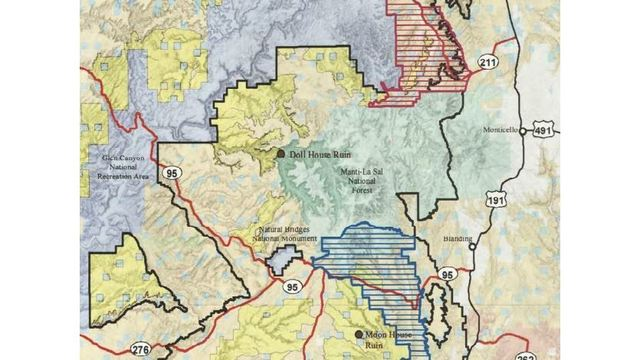 Organizations say leaked maps show reduced sizes of Utah national ...