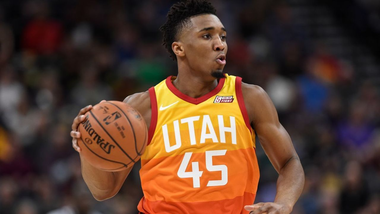 4a1071be3 Donovan Mitchell named Western Conference Rookie of the Month