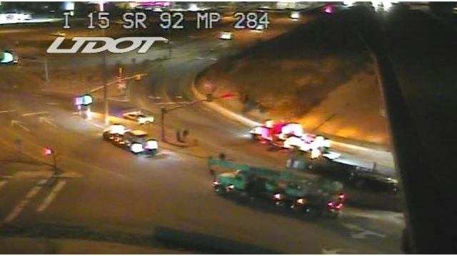Driver Falls Asleep Takes Wrong Exit Overturns Semi Hauling New Cars In Lehi