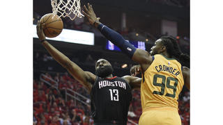 429213e005df Jazz get run over in Game 1 as James Harden scores 41 points