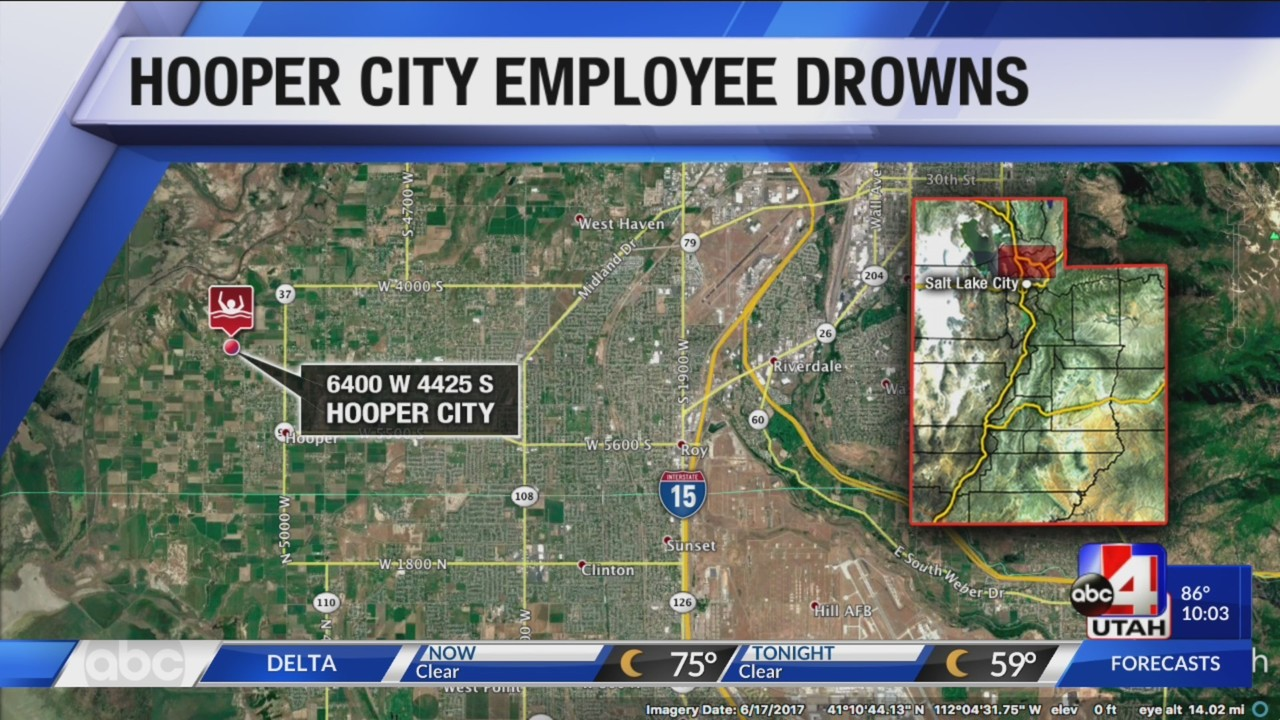 Hooper City Employee Who Drowned In Pipe Identified