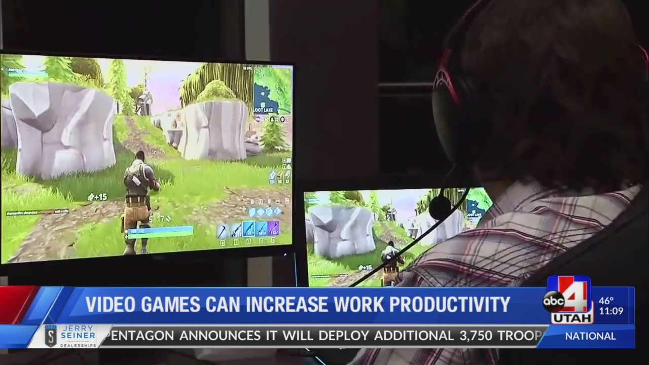 BYU study says playing video games at work is good for productivity