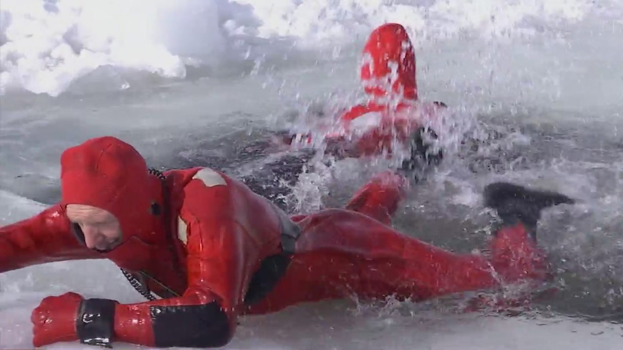 How to survive if you fall beneath the ice