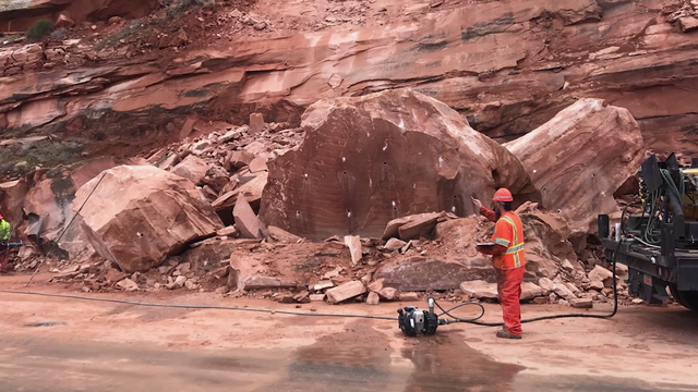 Danger rises as rocks pop and drop on Utah roads