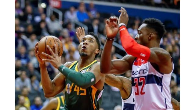 ea62d80d8 Jazz dominate Wizards for fourth straight win