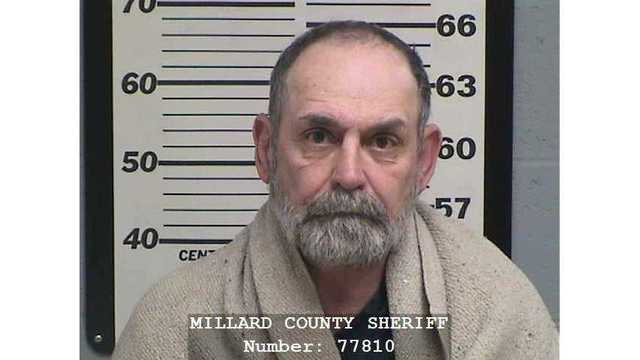 Man arrested on murder charge in Millard County