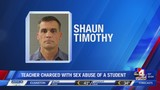 Southern Utah teacher arrested, accused of touching student inappropriately