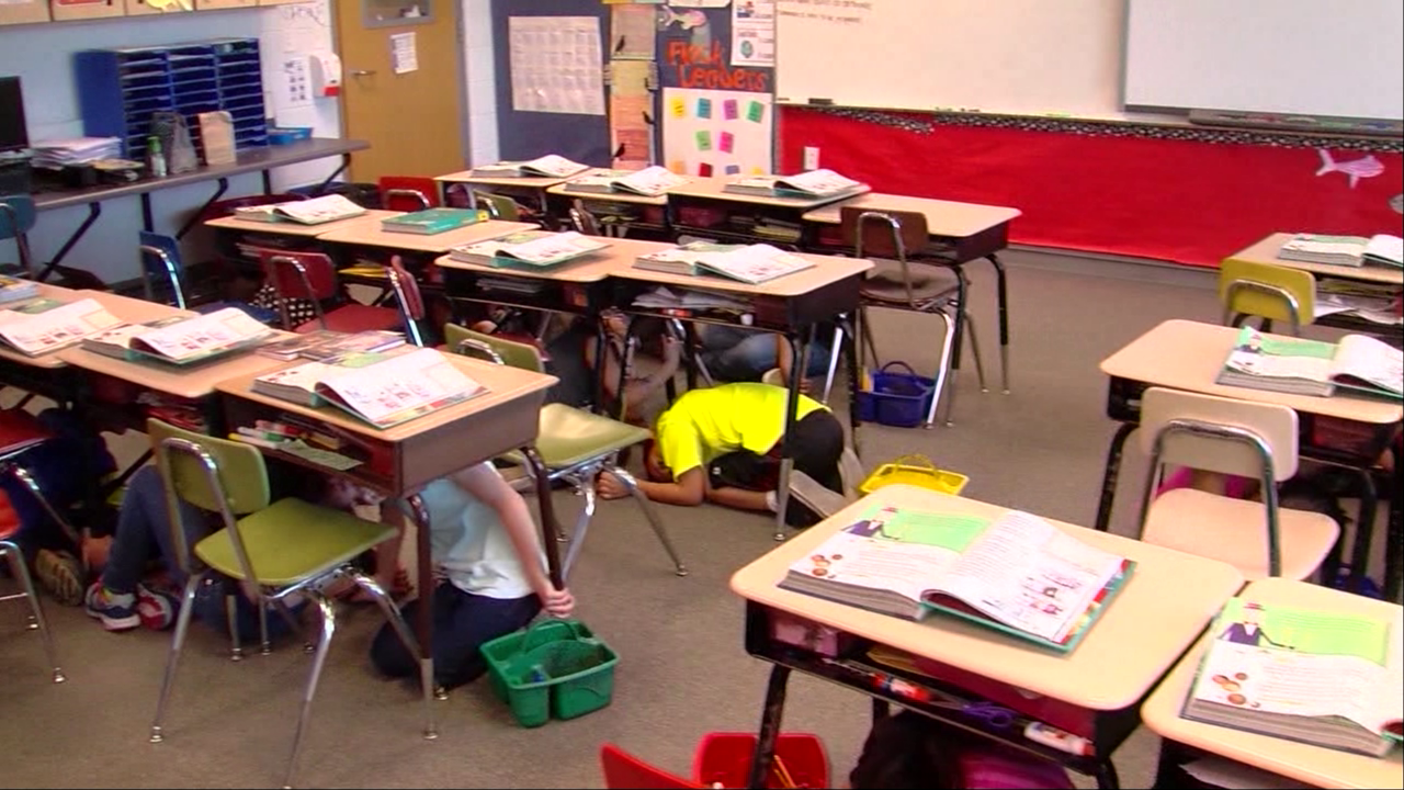 The Great Utah ShakeOut drill practiced statewide