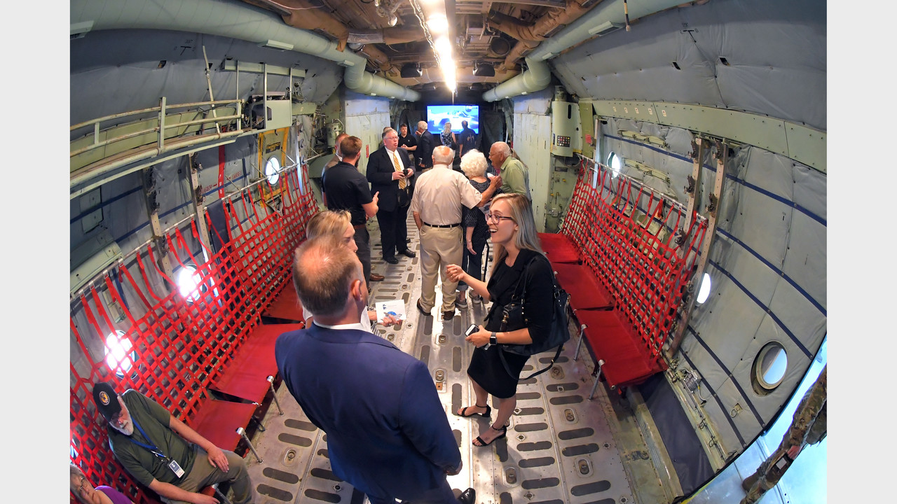 Repurposed plane become interactive classroom at Hill Aerospace Museum