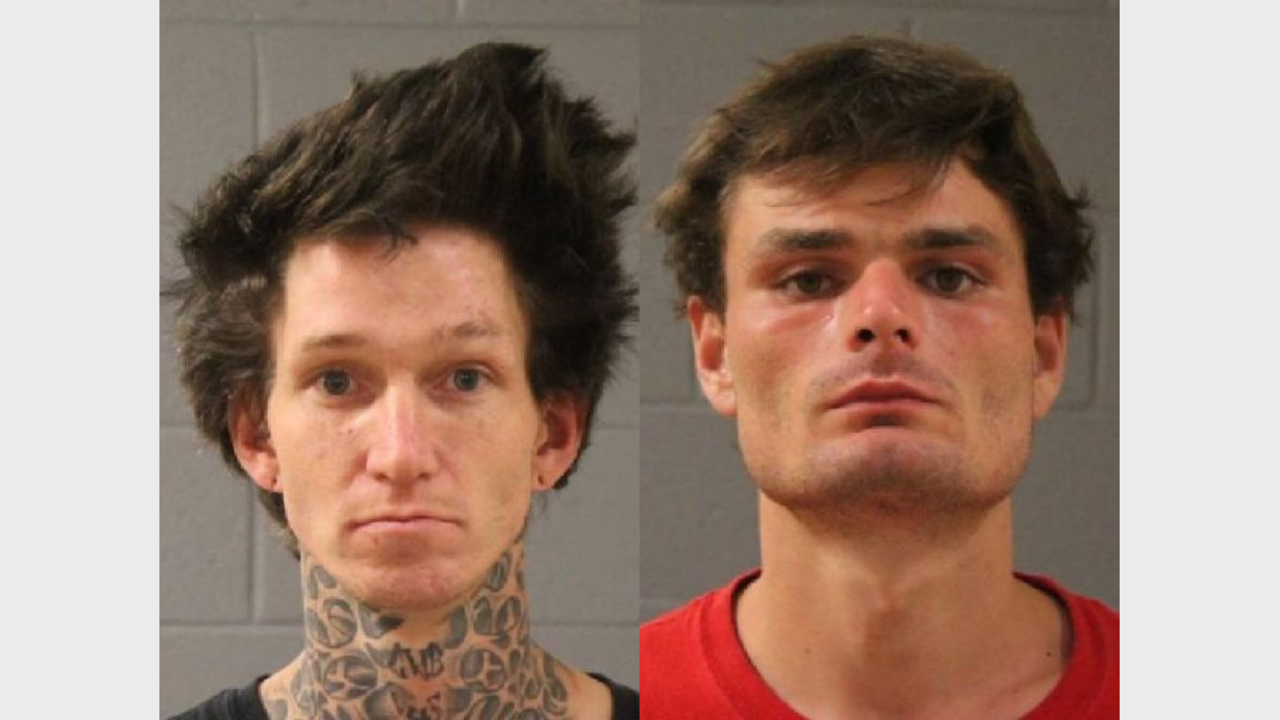 Police: Two men face arson charges after allegedly being paid to steal, light truck on fire