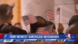 Immigrants take oath of citizenship at State Capitol