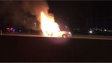 One dead after fiery crash on I-215 in West Valley City